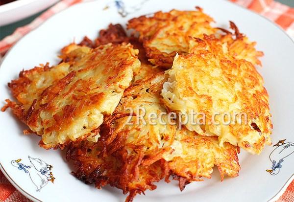 Драники картофельные - пошаговый рецепт с фото