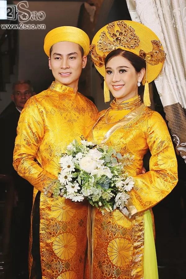Hành trình lặn lội tìm hạnh phúc của Lâm Khánh Chi: Từ nam ca sĩ trở thành cô dâu nổi tiếng showbiz Việt-8
