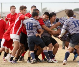 Dead Rabbits Rugby Match