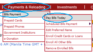 How to Pay HSBC Credit Card through BPI Express Online - Send Money