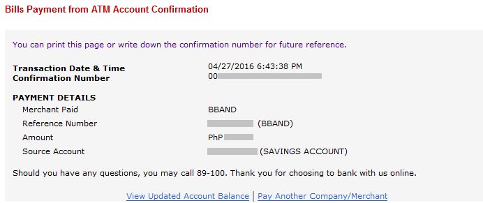 How to Pay Sky Broadband through BPI Express Online