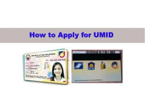 How to Easily Apply for the New UMID Card (and use it as an ATM Card)