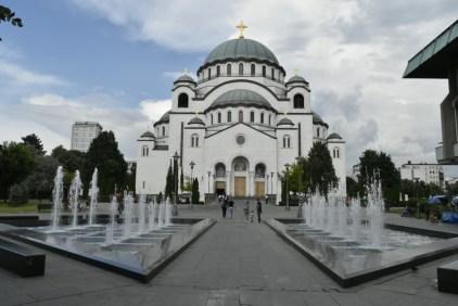 St. Sava Temple, interior is still under contruction