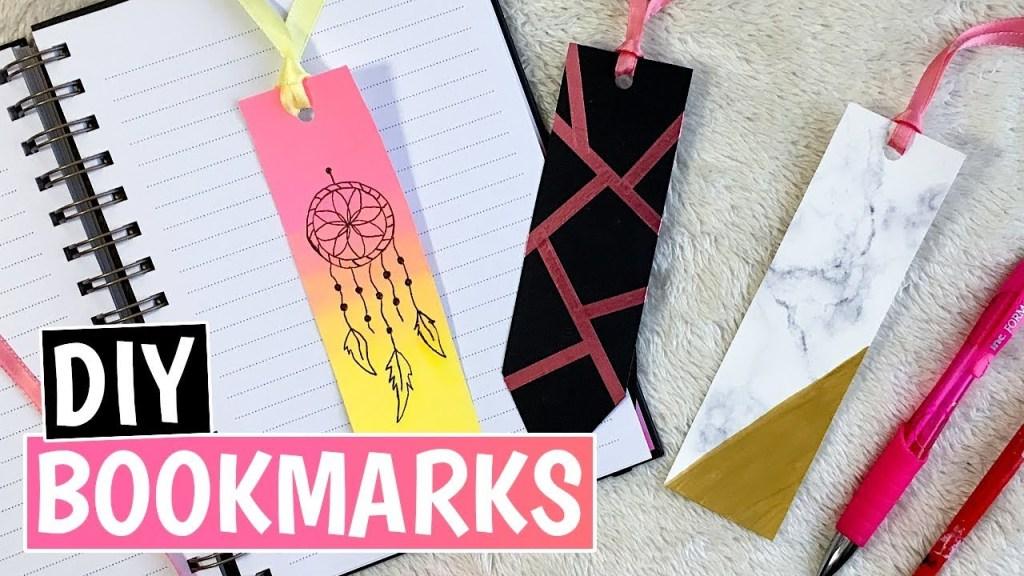 DIY Bookmark Favorites
