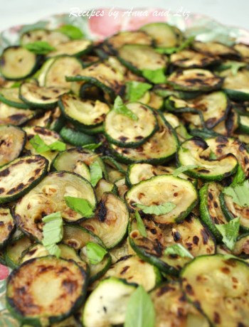 Grilled Zucchini Neapolitan Style! by 2sistersrecipes.com
