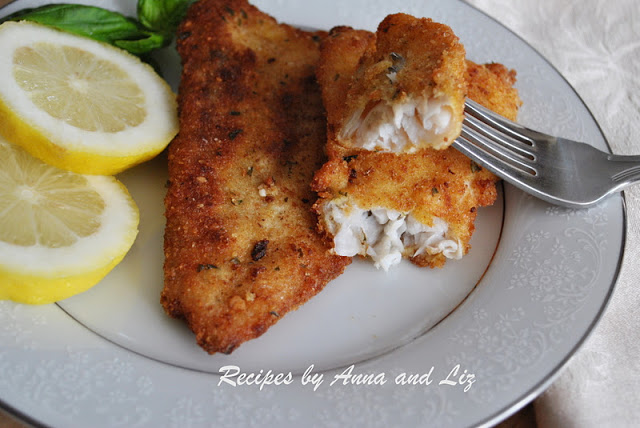 Fillet of Flounder Cutlets with a Twist! by 2sistersrecipes.com