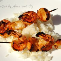 Best Grilled Shrimp and Scallop Kabobs