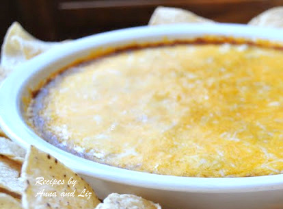 EASY Hot Chili Cheese Dip - Only Three Layers!