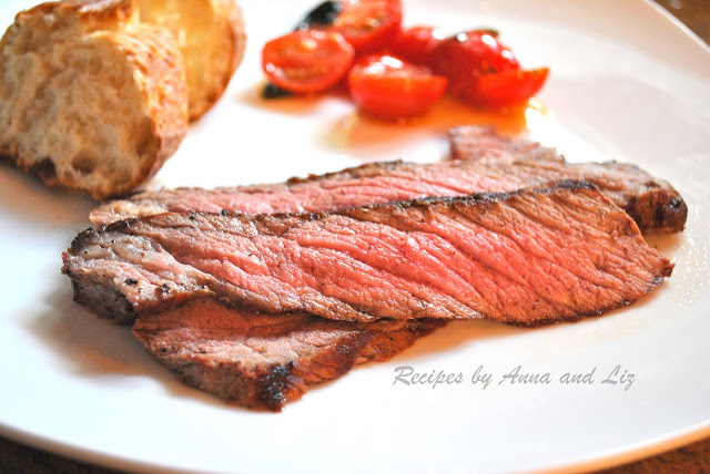 London Broil Steak Grilled to Perfection! by 2sistersrecipes.com