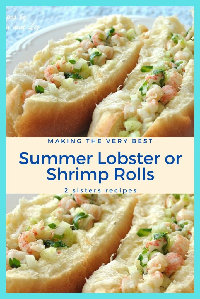 Summer Lobster or Shrimp Rolls by 2sistersrecipes.com