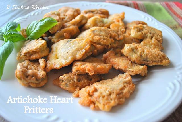 Artichoke Heart Fritters