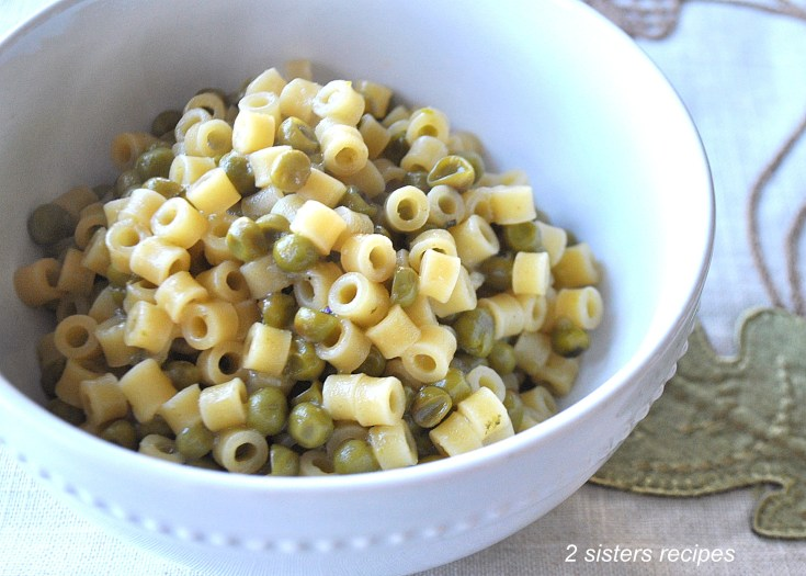 Pasta with Baby Peas