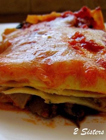 Best Vegetable Lasagna by 2sistersrecipes.com