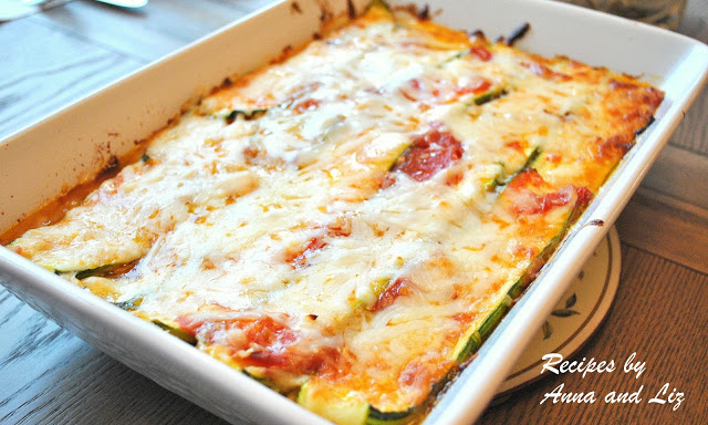 Best Zucchini Lasagna - without Noodles! by 2sistersrecipes.com