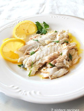 Bake or Roast Branzino with Lemon by 2sistersrecipes.com