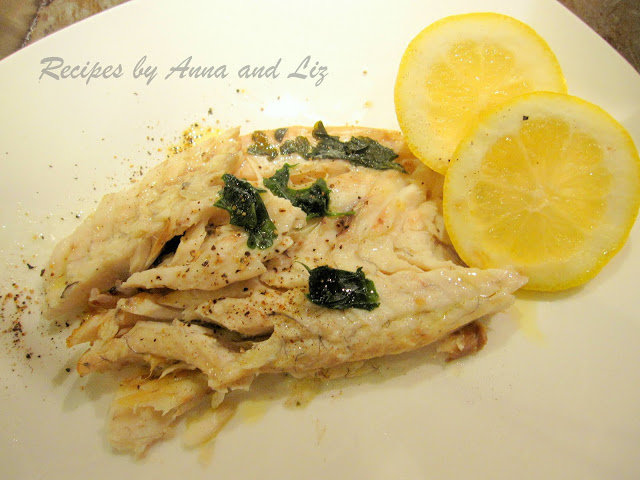Bake or Roast Branzino with Lemon Garlic and Wine by 2sistersrecipes.com