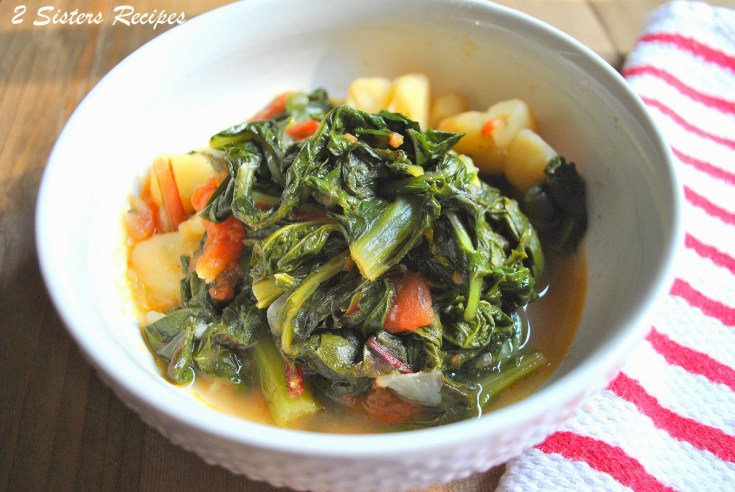 Dad's Favorite Vegetarian Italian Stew