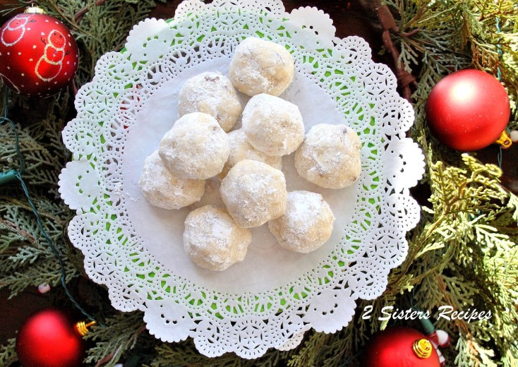 Snow Ball Christmas Cookies