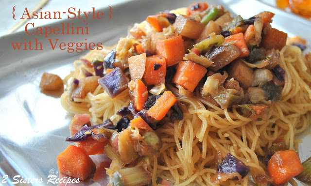 Asian capellini noodles recipe