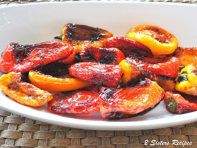 Lunchbox Peppers Sauteed in Garlic and Olive Oil by 2sistersrecipes.com