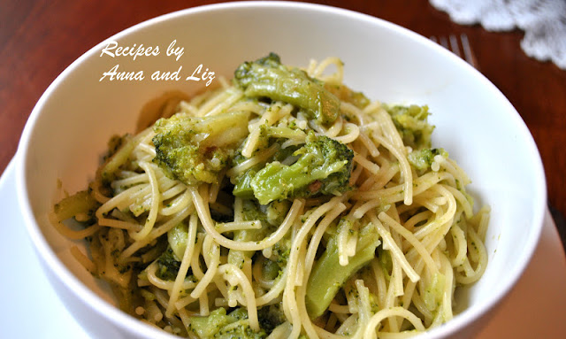 Pasta Cooked with Broccoli in 15 Minutes!