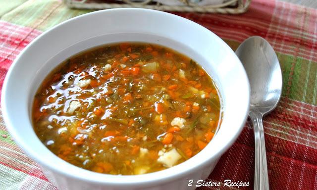 Detox Soup by 2sistersrecipes.com