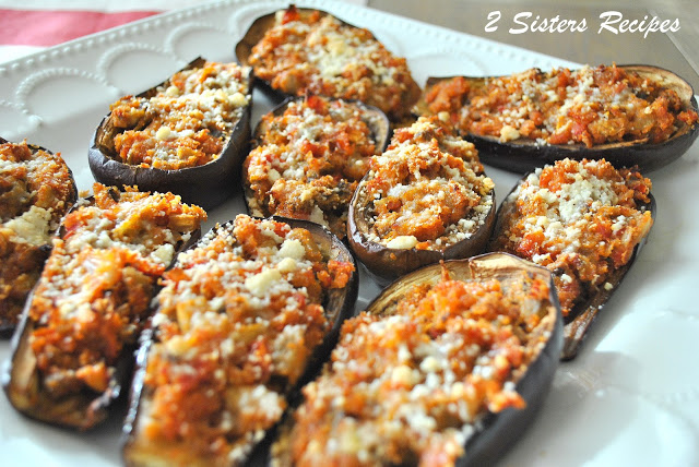 Easy Stuffed Mini Eggplants