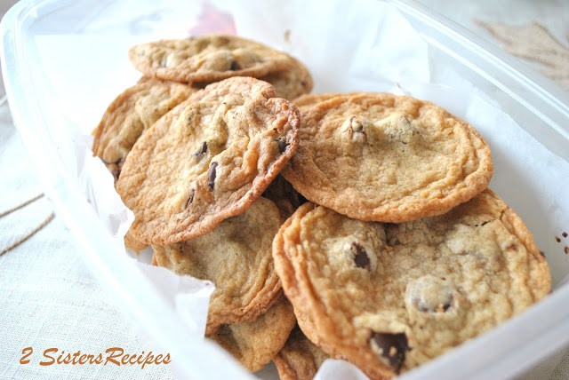 The Ultimate Bittersweet Chocolate Chip Cookies by 2sistersrecipes.com