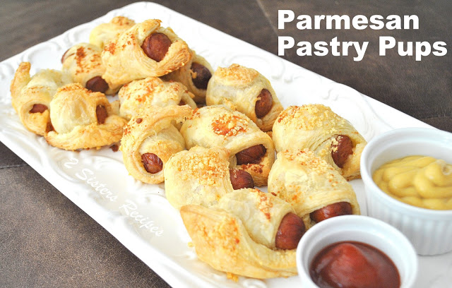 Parmesan Pastry Pups by 2sistersrecipes.com