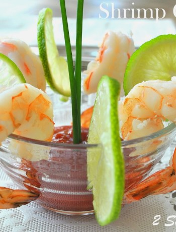 Shrimp Cocktail with Vodka Sauce by 2sistersrecipes.com
