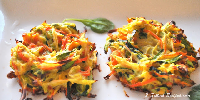 Baked Vegetable Bird's Nests