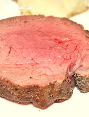 The Perfect Filet Mignon Roast by 2sistersrecipes.com