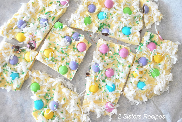 Easter Bark by 2sistersrecipes.com