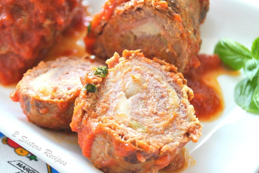 Braciole - Sicilian Style! 2sistersrecipes.com
