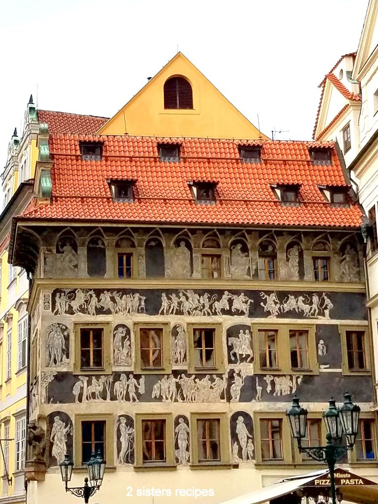 Old Town Square in Prague by 2sistersrecipes.com