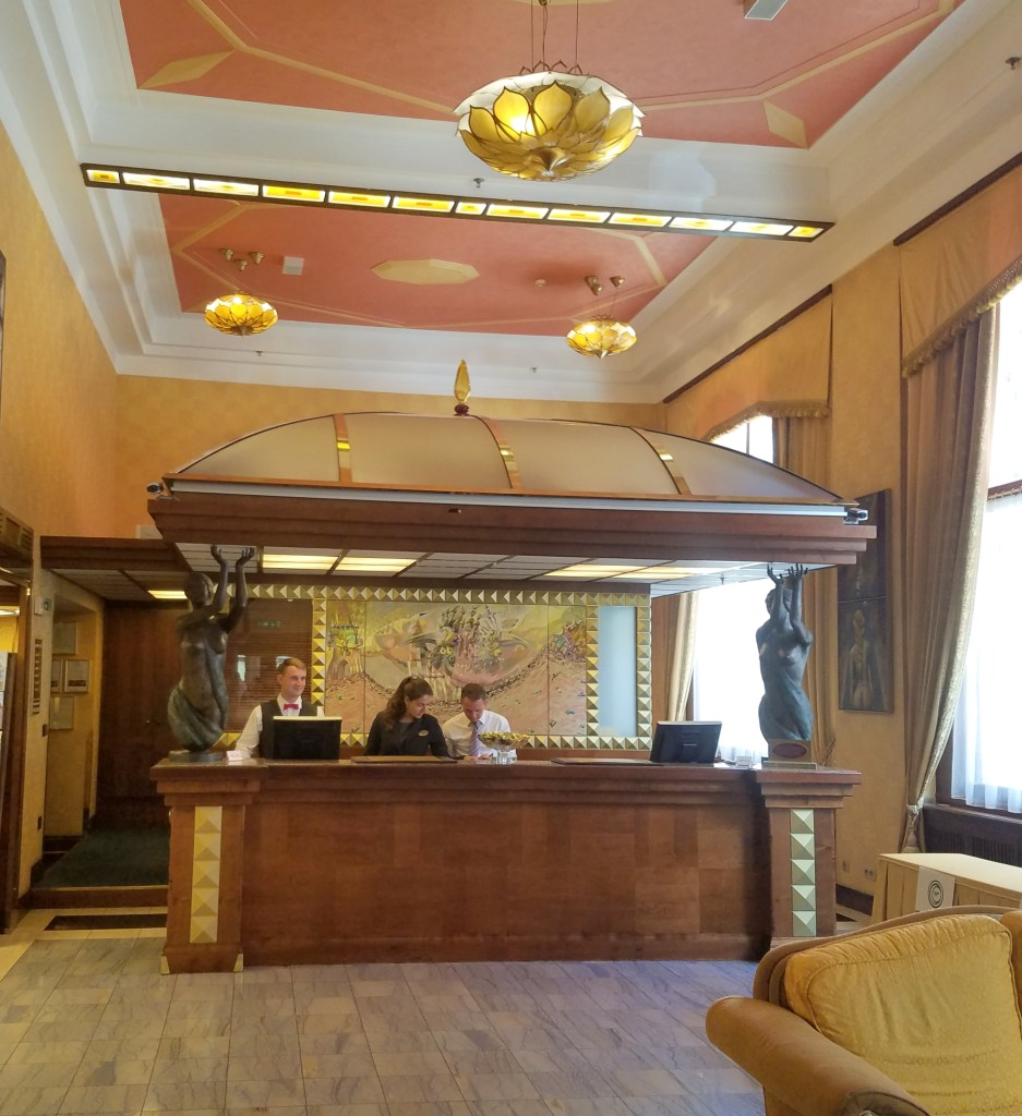 Hotel Imperial in Prague, by 2sistersrecipes.com