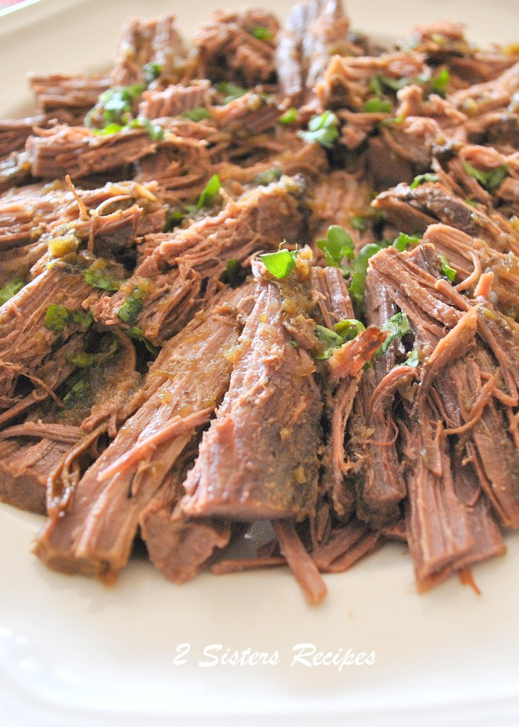 Oven-Baked Brisket by 2sistersrecipes.com