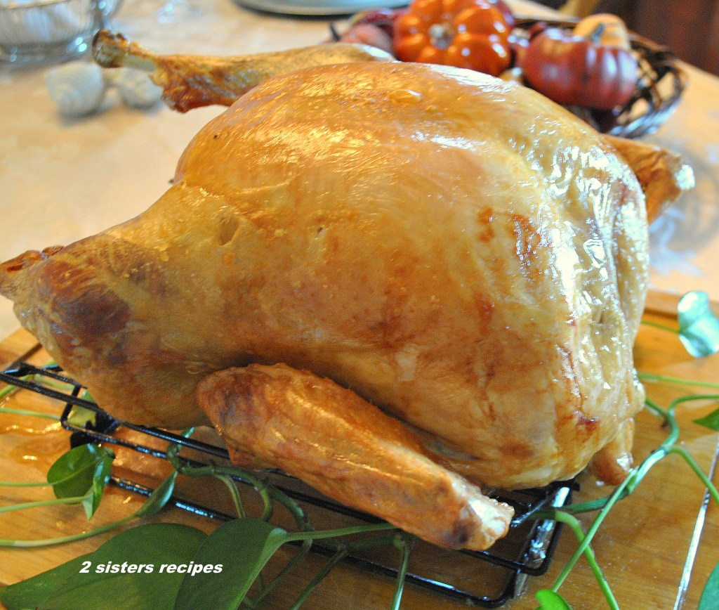 Roasted Thanksgiving Turkey by 2sistersrecipes.com