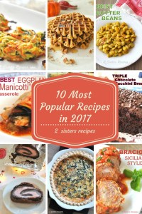 10 Most Popular Recipes in 2017 by 2sistersrecipes.com
