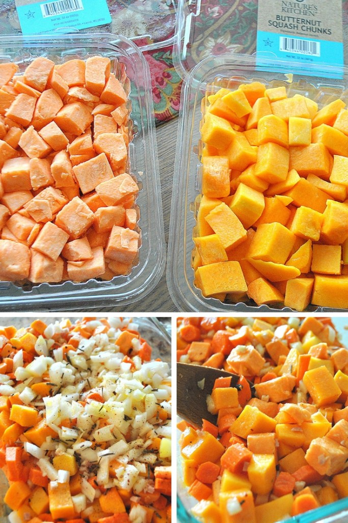 Healthy Italian Butternut Sweet Potato Casserole by 2sistersrecipes.com