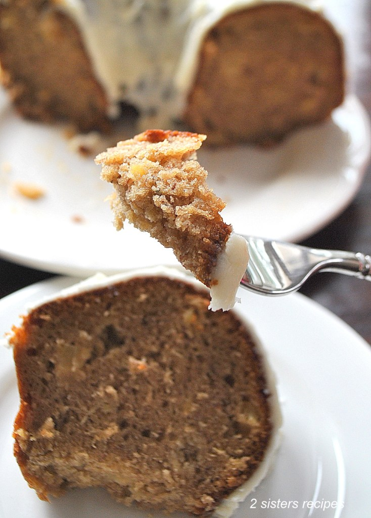 Pineapple Banana Spice Cake by 2sistersrecipes.com