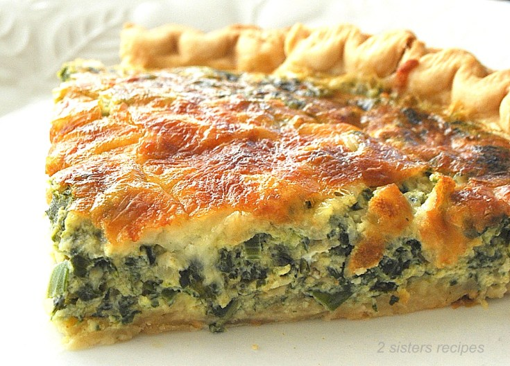 Spinach and Kale Quiche