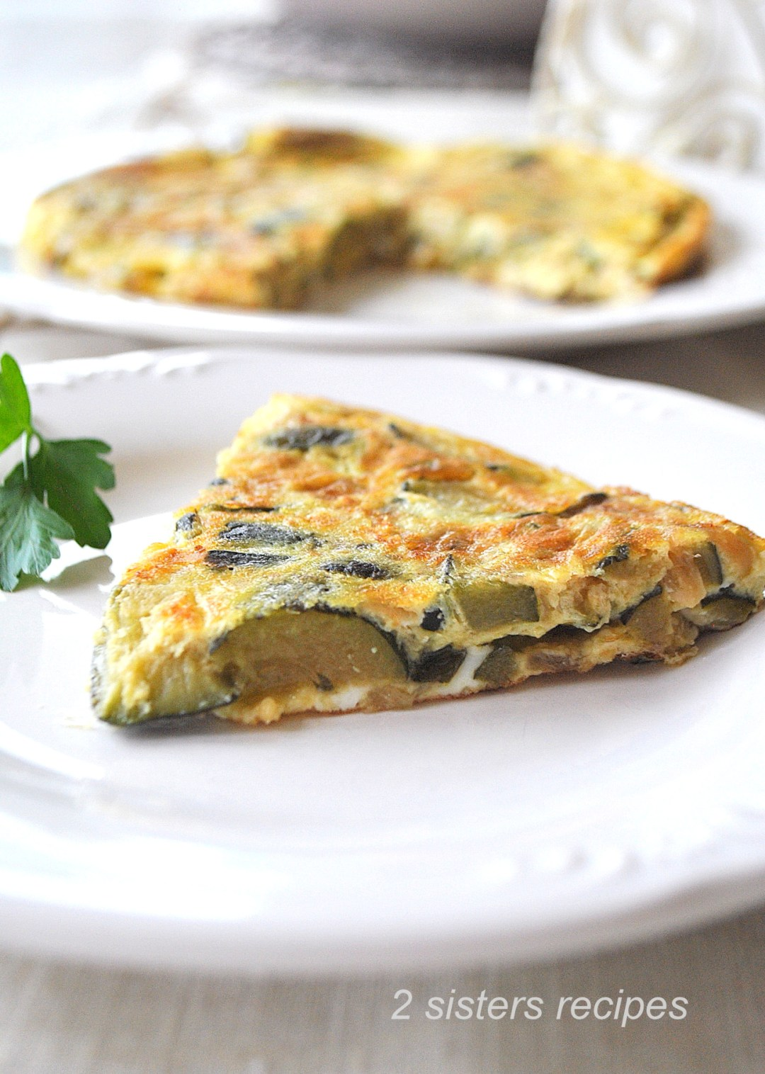Mom's Best Zucchini Omelet by 2sistersrecipes.com