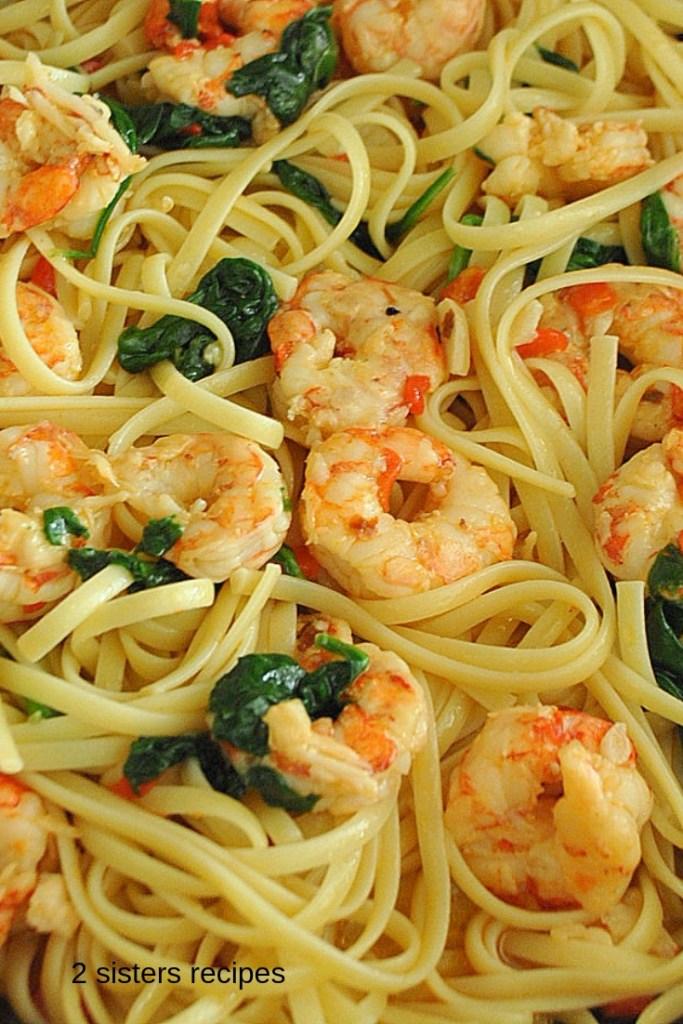 Easy Shrimp Dinner by 2sistersrecipes.com