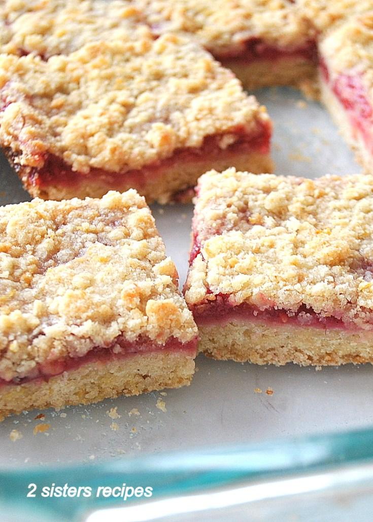 Raspberry Lemon Crumble Bars