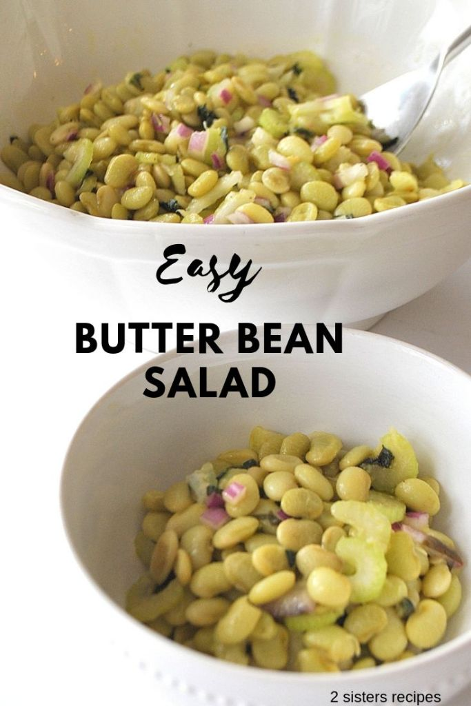 Easy Butter Bean Salad by 2sistersrecipes.com