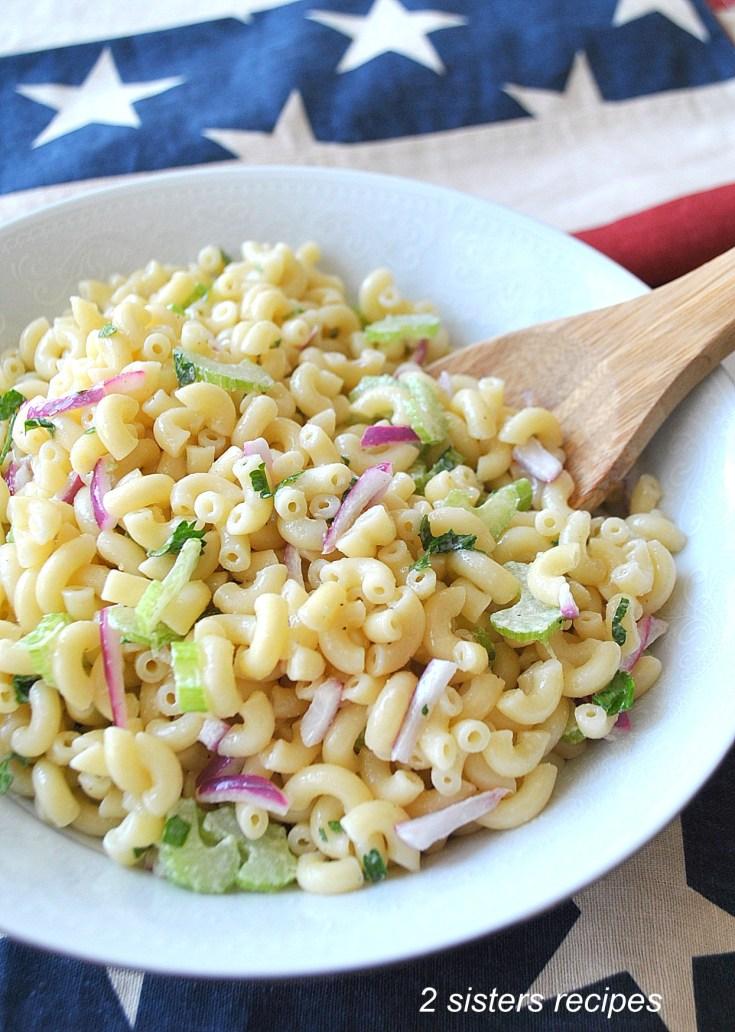 Easy Italian Macaroni Salad