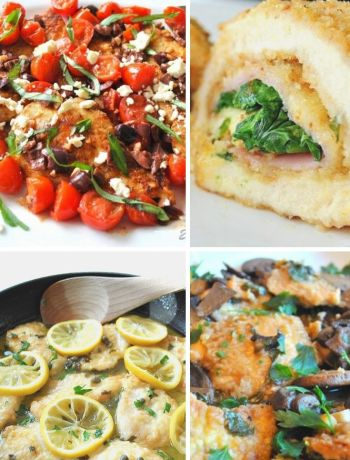 Easy Weeknight Chicken Cutlet Dinners by 2sistersrecipes.com