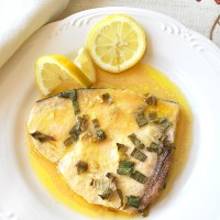 Easy Baked Swordfish