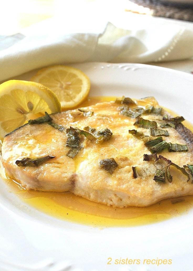 Easy Baked Swordfish by 2sistersrecipes.com